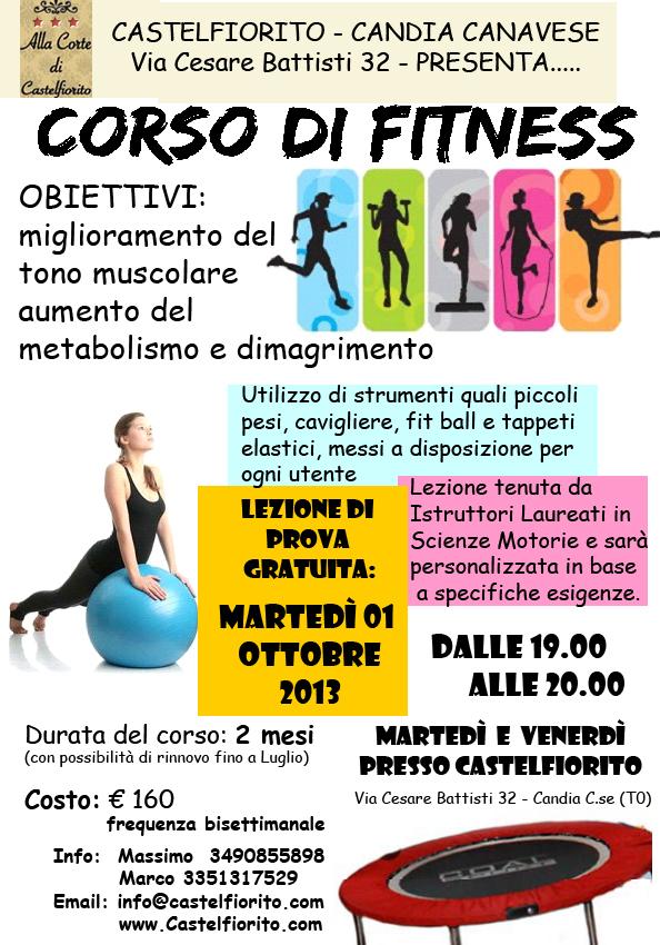 Corsi di Fitness Castelfiorito